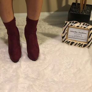 Shoes - Check out for Annie Burgundy Heel
